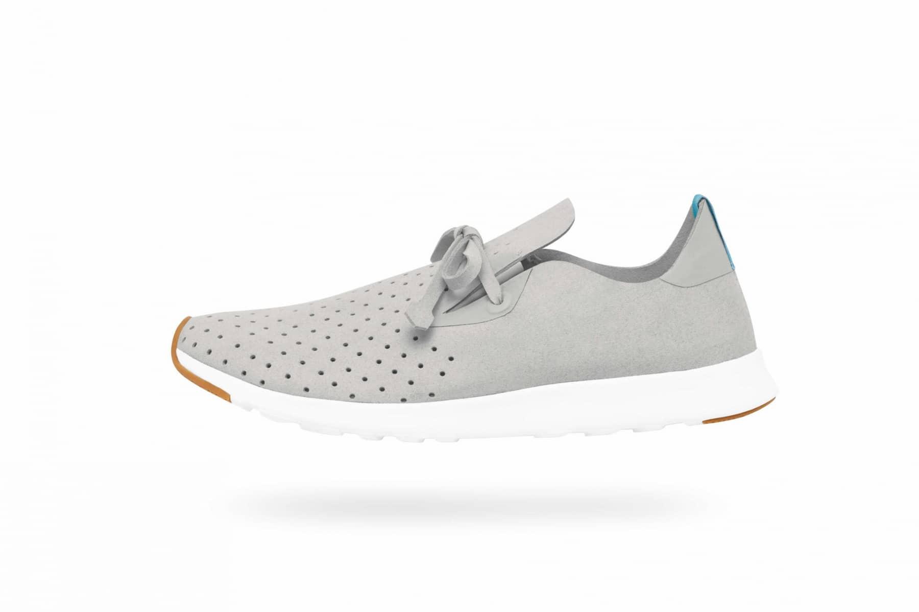 native apollo kicks shoe grey