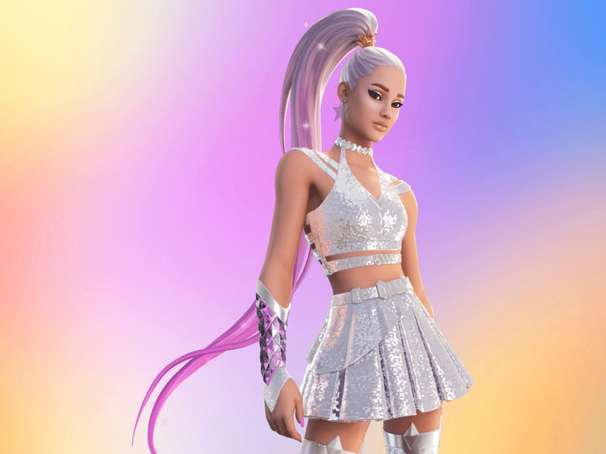 Ariana grande fortnite skin 1