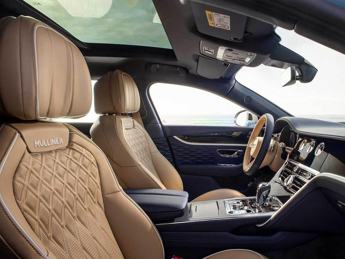 Bentley flying spur mulliner driver area