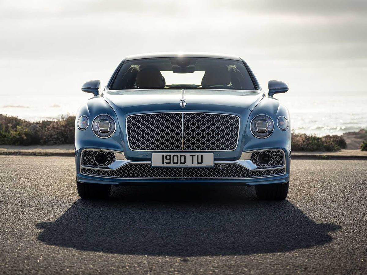 Bentley flying spur mulliner frontview