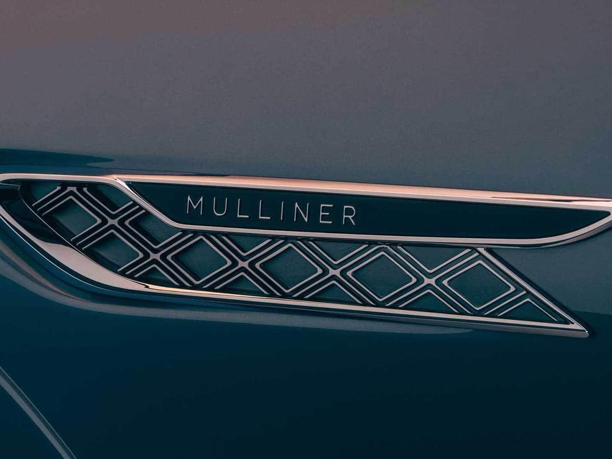 Bentley flying spur mulliner interior