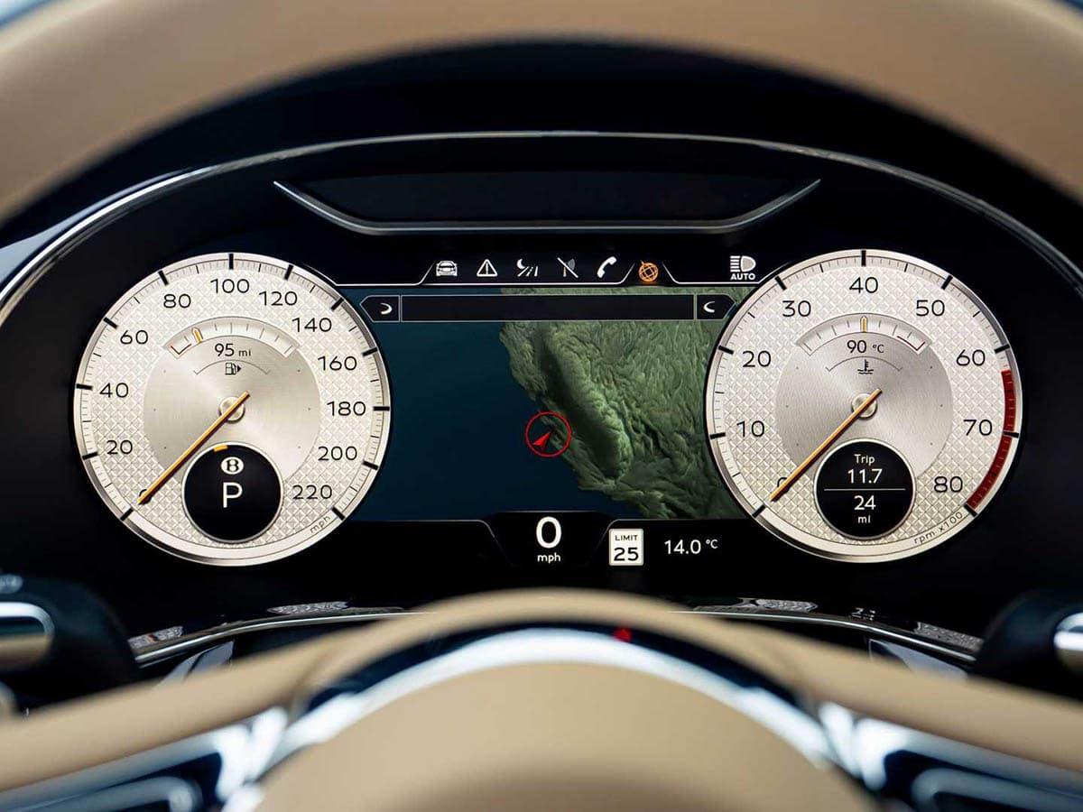 Bentley flying spur mulliner meter