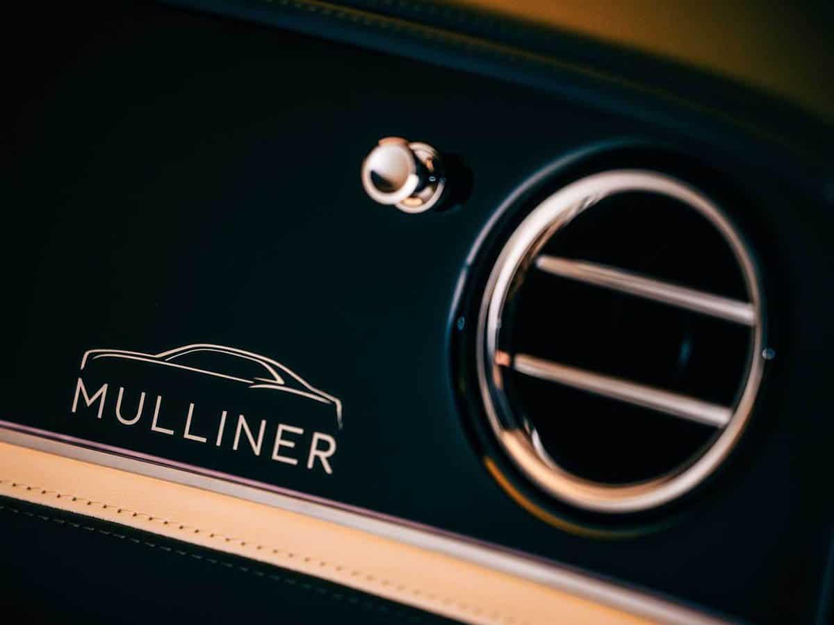 Bentley flying spur mulliner writing