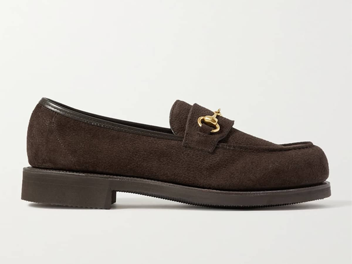 Colony full grain suede loafers