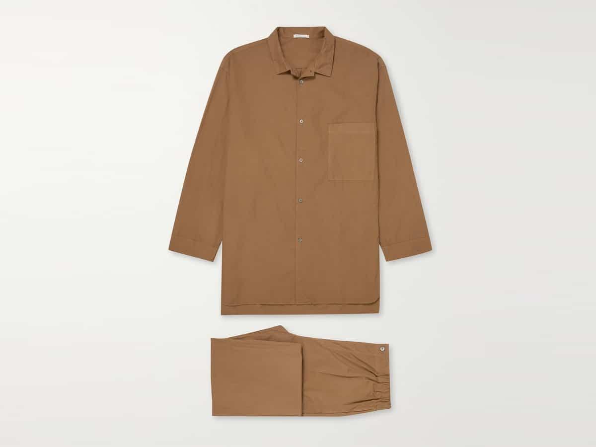 Cotton poplin pyjama set