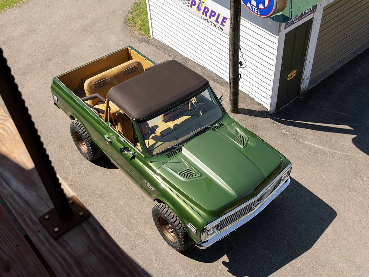 Custom 1970 chevrolet k5 blazer 4