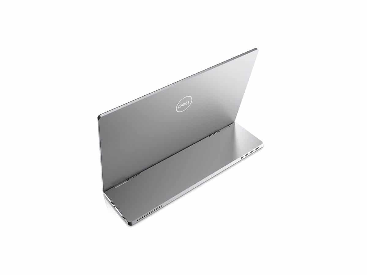 Dell 14 portable monitor c1422h top view