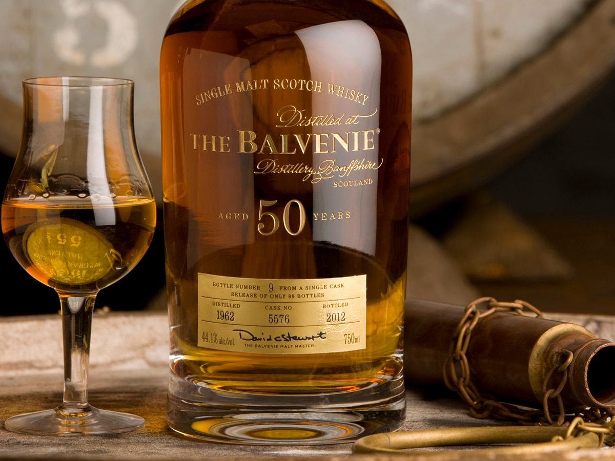 the balvenie 50 year old marriage 0614 single malt scotch whisky