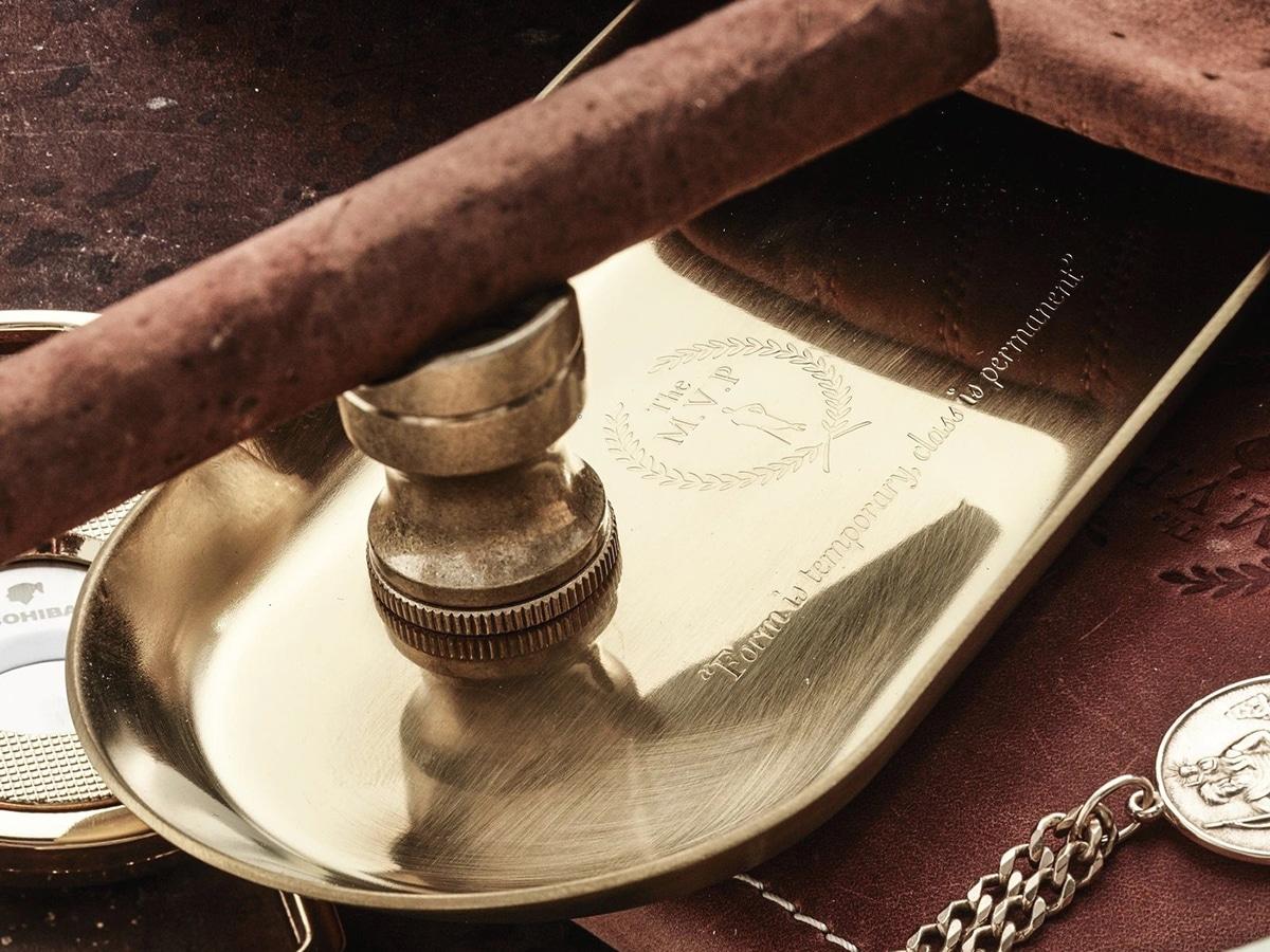 mvp gold tray cigar holder
