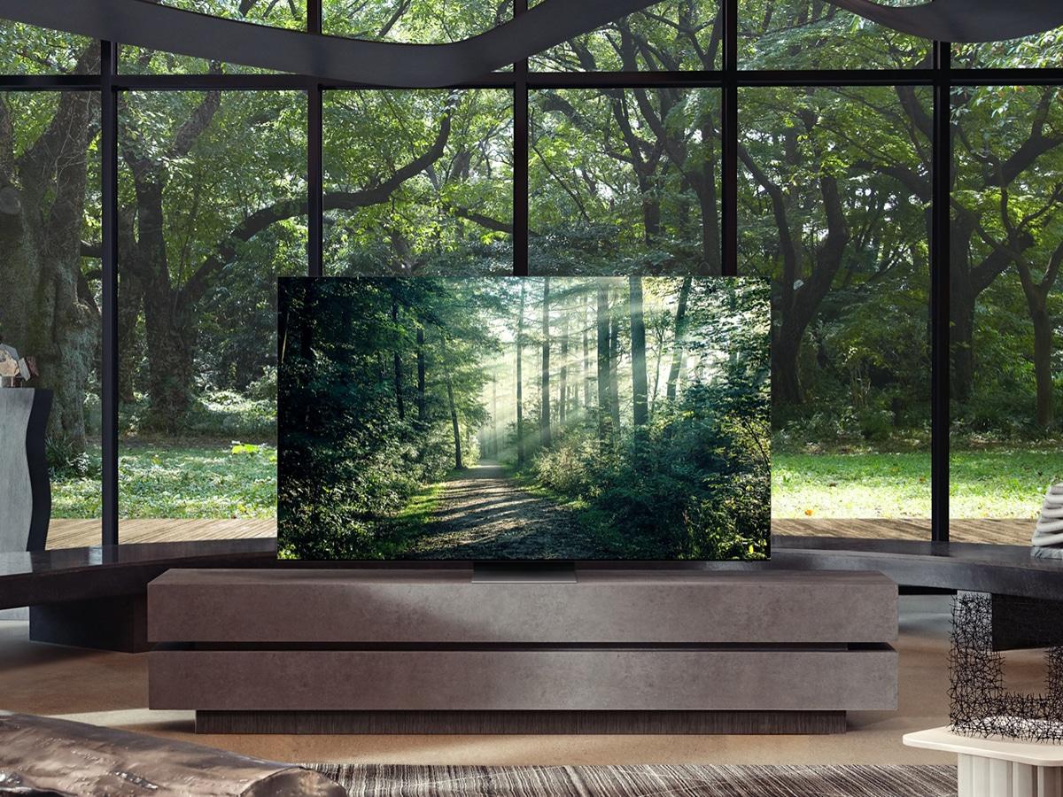 samsung 75 neo qled 8k smart tv in living room