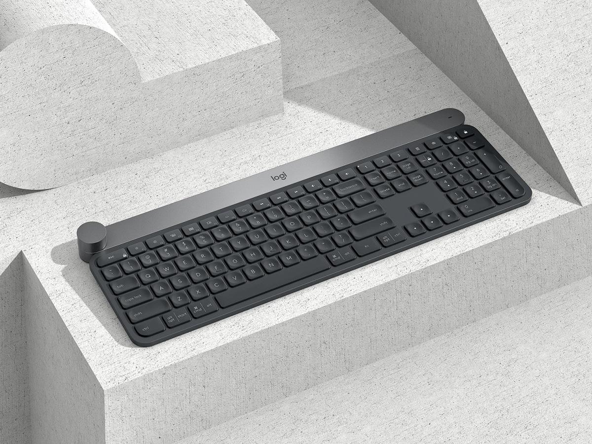 black logitech craft keyboard
