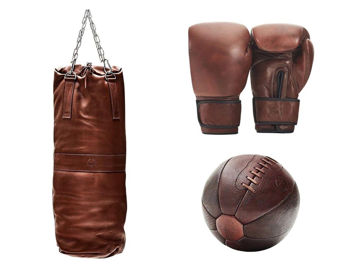 modest vintage player pro boxing kit