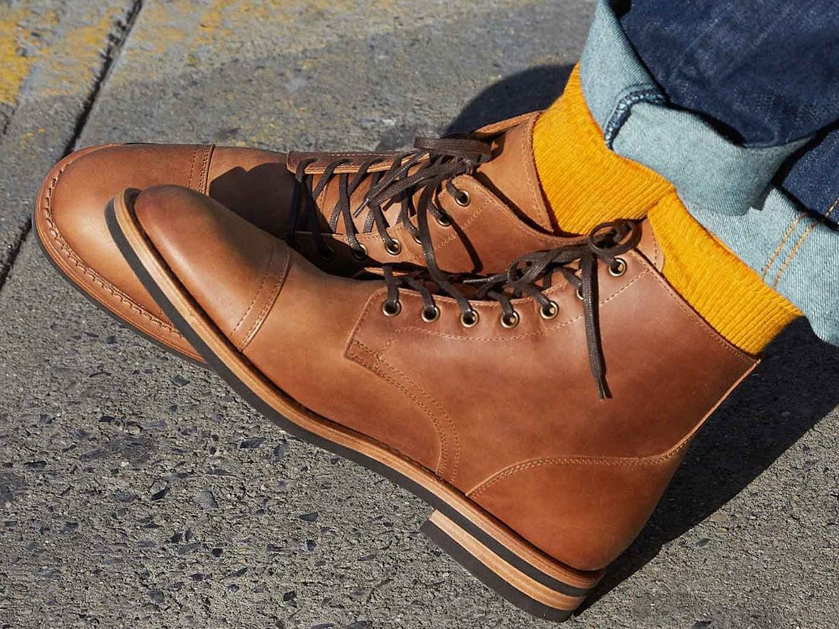 brown leather oliver cabell sb1 boots