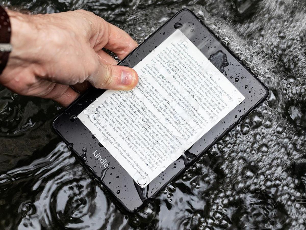 kindle paperwhite waterproof 32gb
