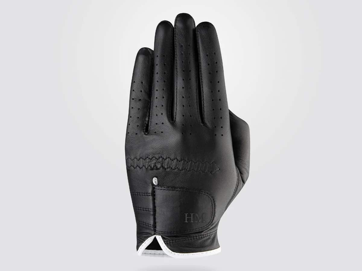 personalised premium cabretta leather golf glove