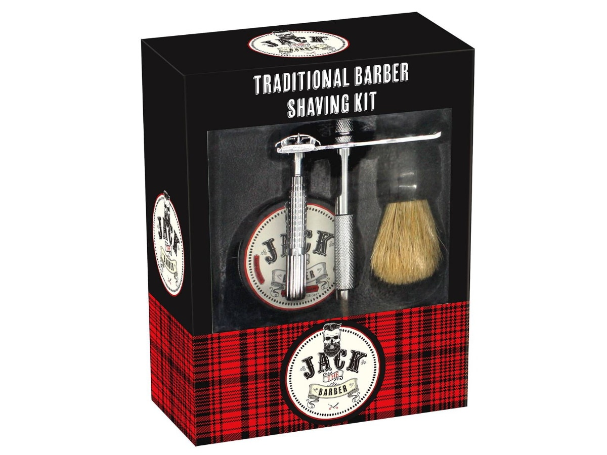 Fathers day gift guide under 50 traditional barber shaving kit