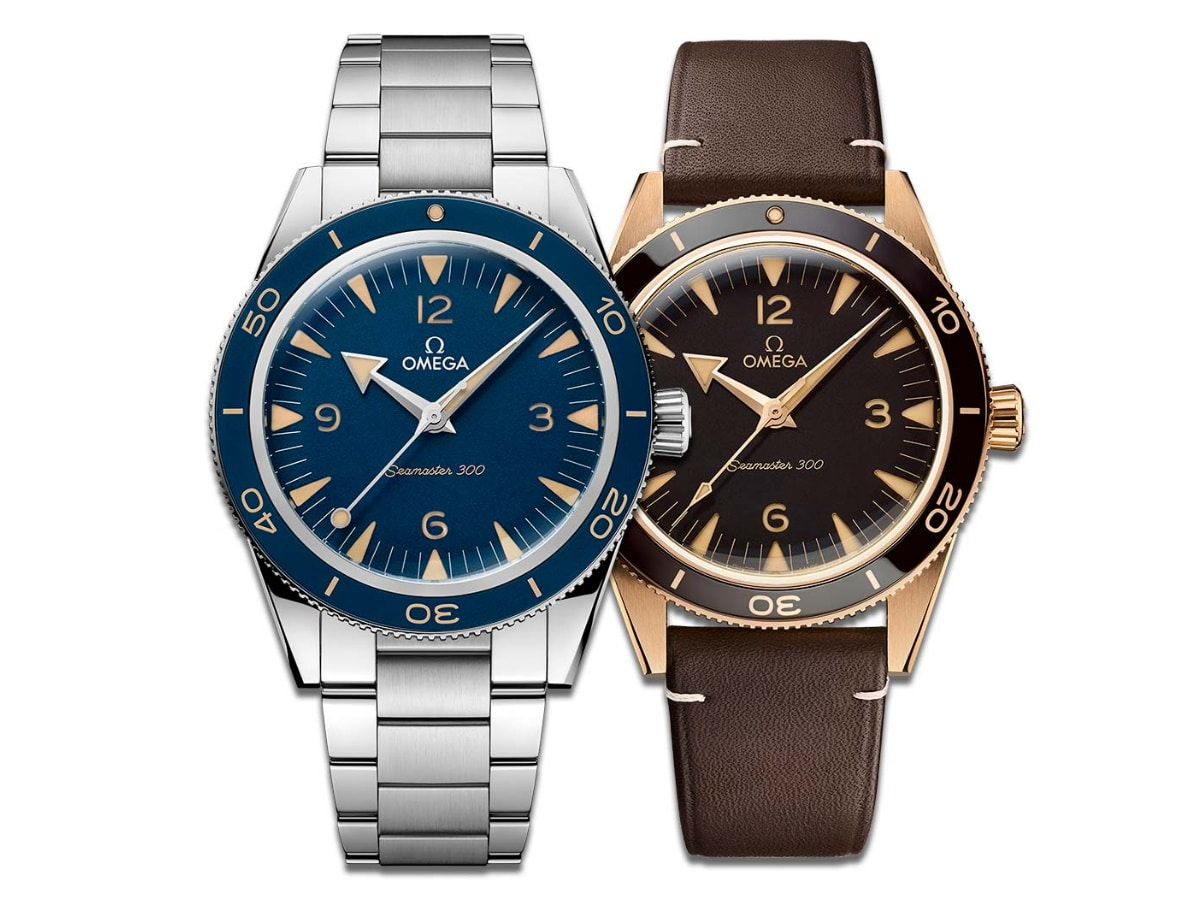 Fathers day gift guide watch lover omega seamaster
