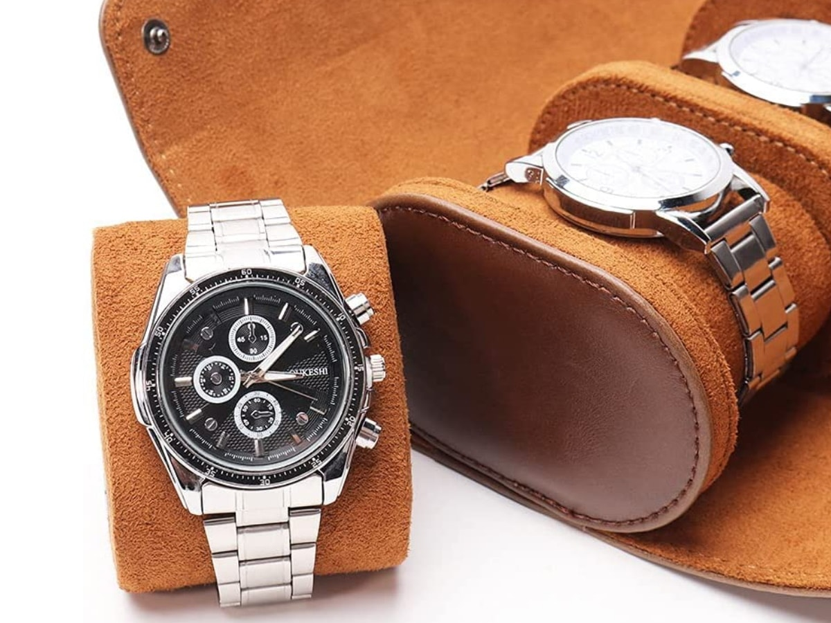 Fathers day gift guide watch lover pahvrion watch roll travel case