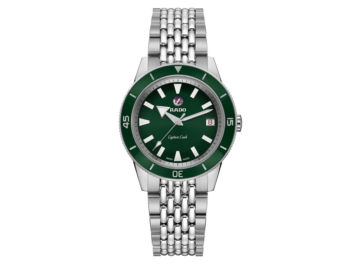 Fathers day gift guide watch lover rado captain cook automatic