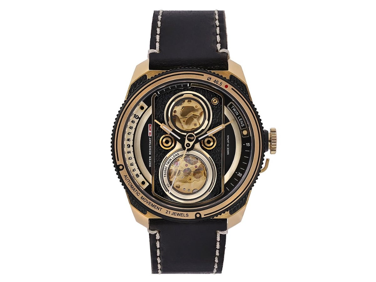 Fathers day gift guide watch lover tacs retro gold