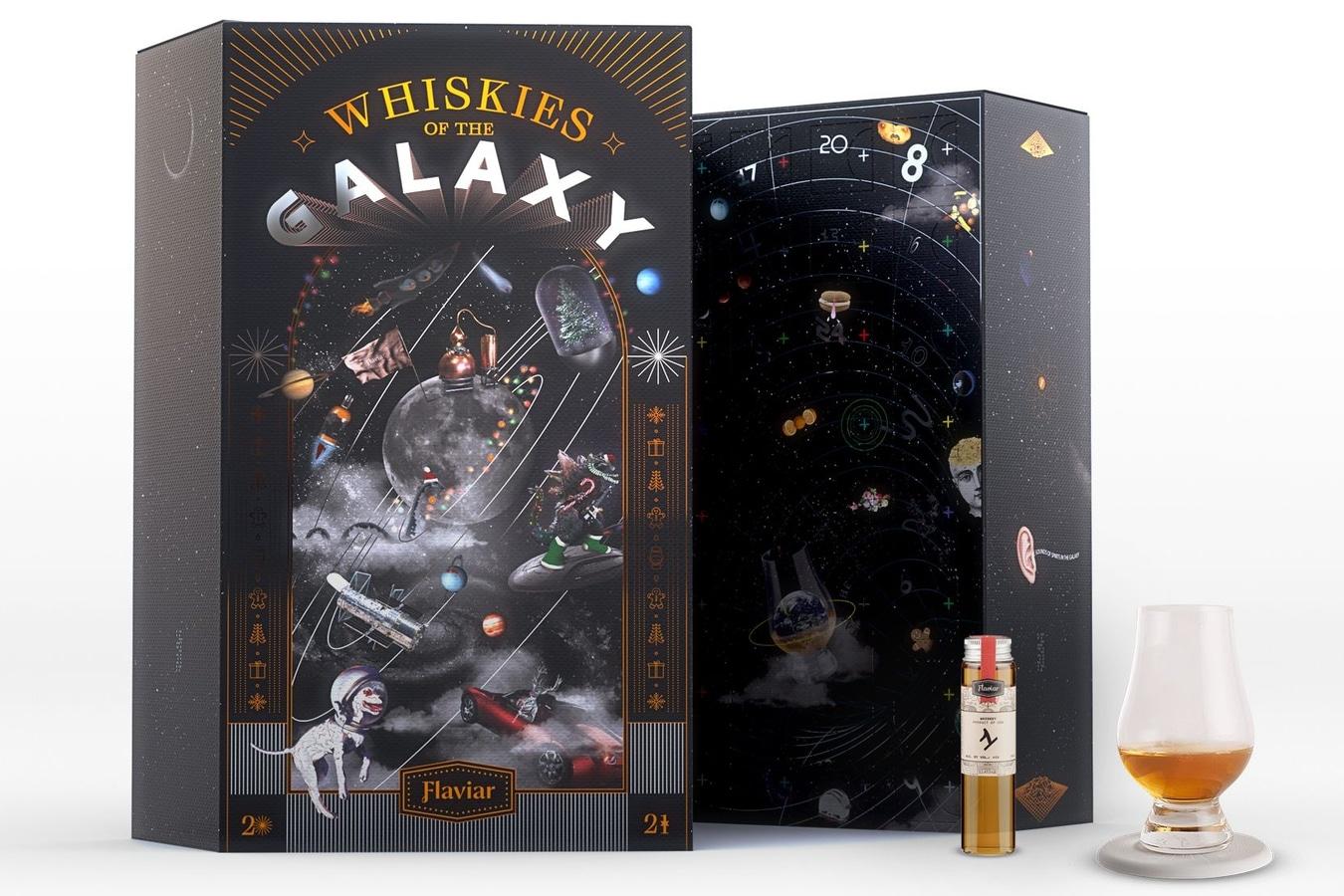 Flaviar whiskies of the galaxy