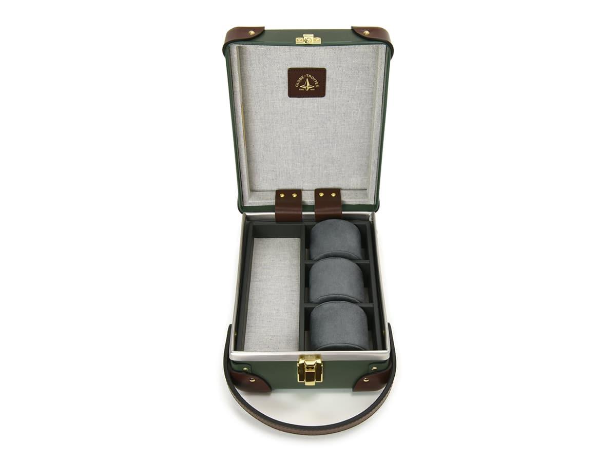 Globe trotter centenary 3 slot watch case 3