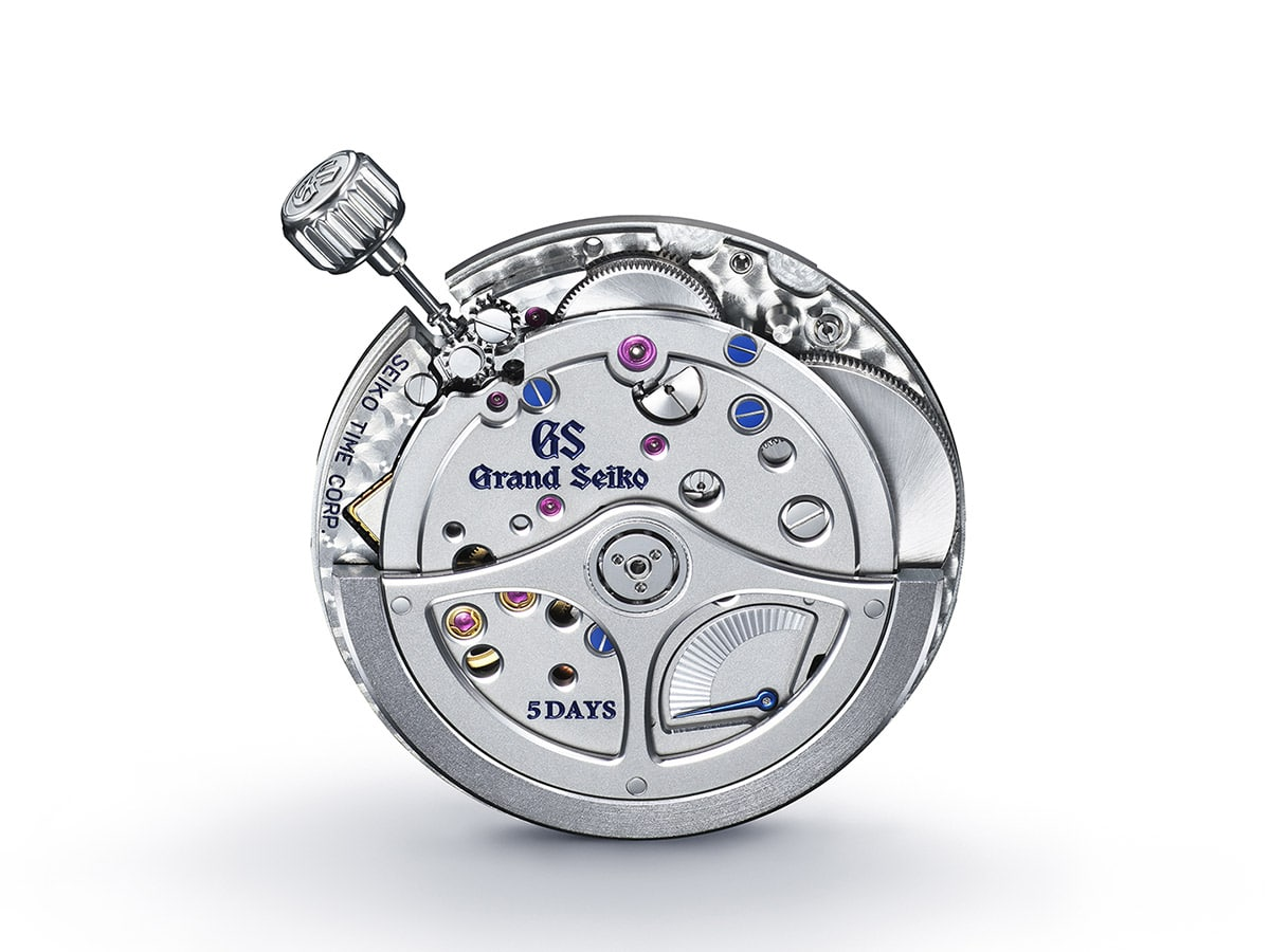 Grand seiko heritage collection seiko 140th anniversary limited edition inside view