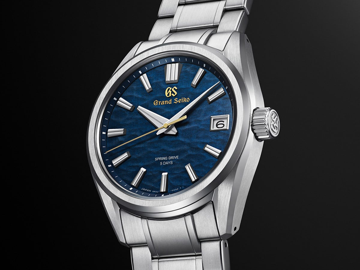 Grand seiko heritage collection seiko 140th anniversary limited edition side
