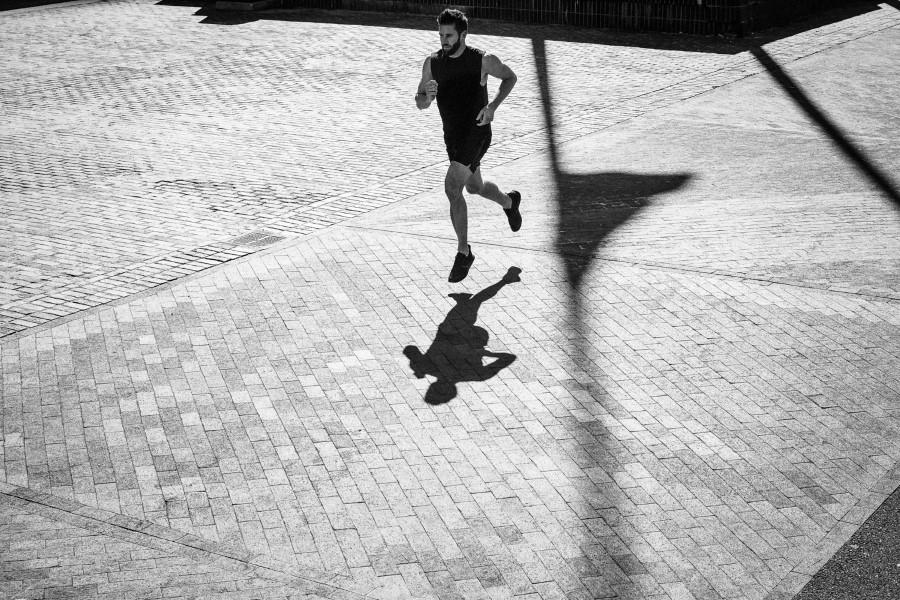 athletics exercise of men