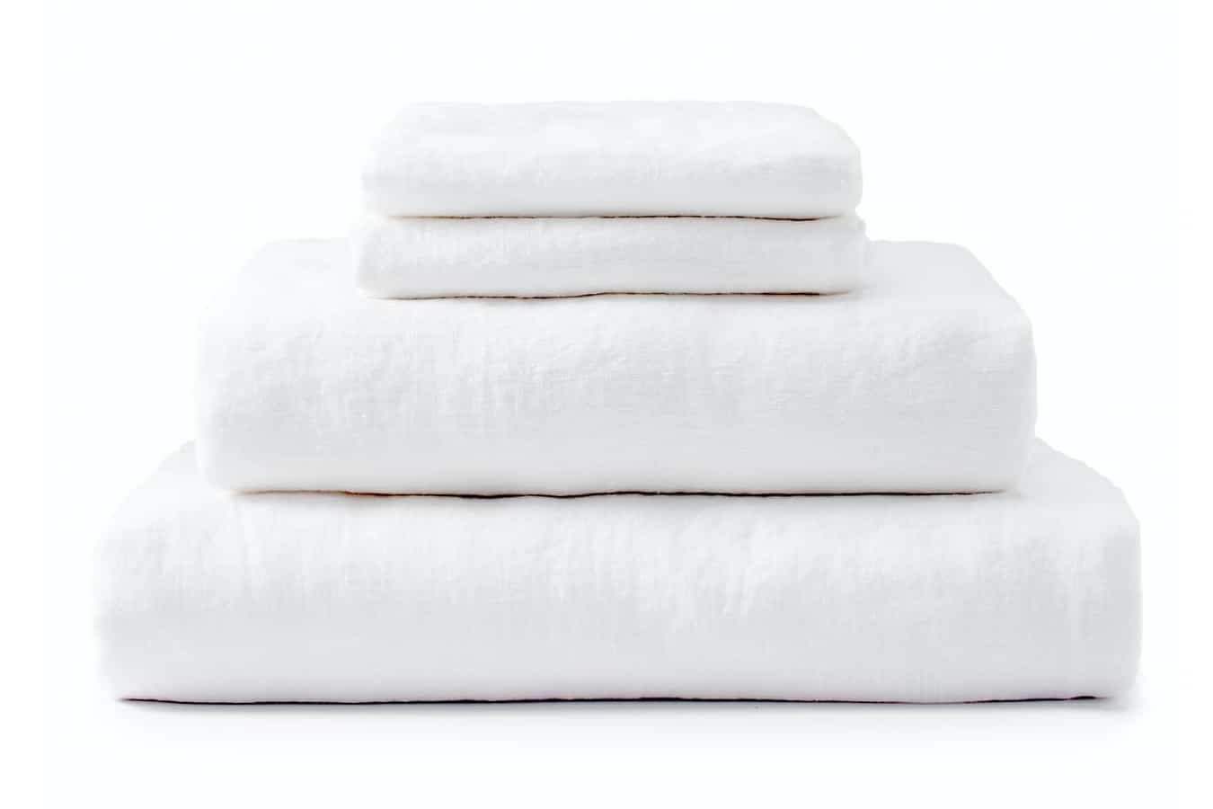 upstate stonewashed linen sheet set queen