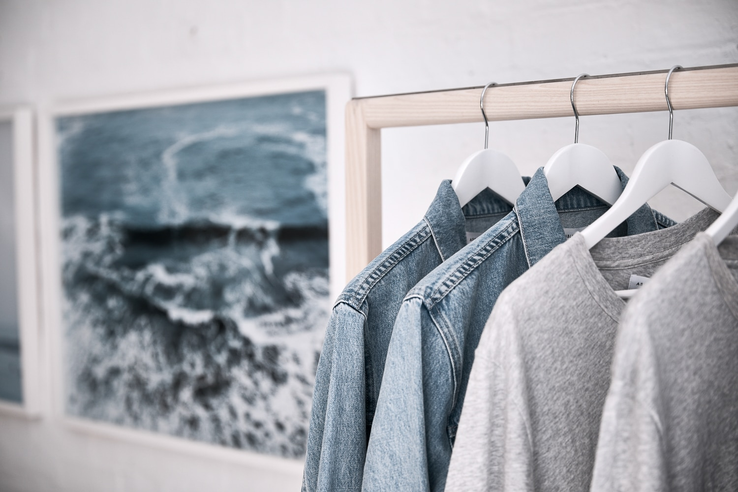 assembly label voucher jeans shirt and tshirt