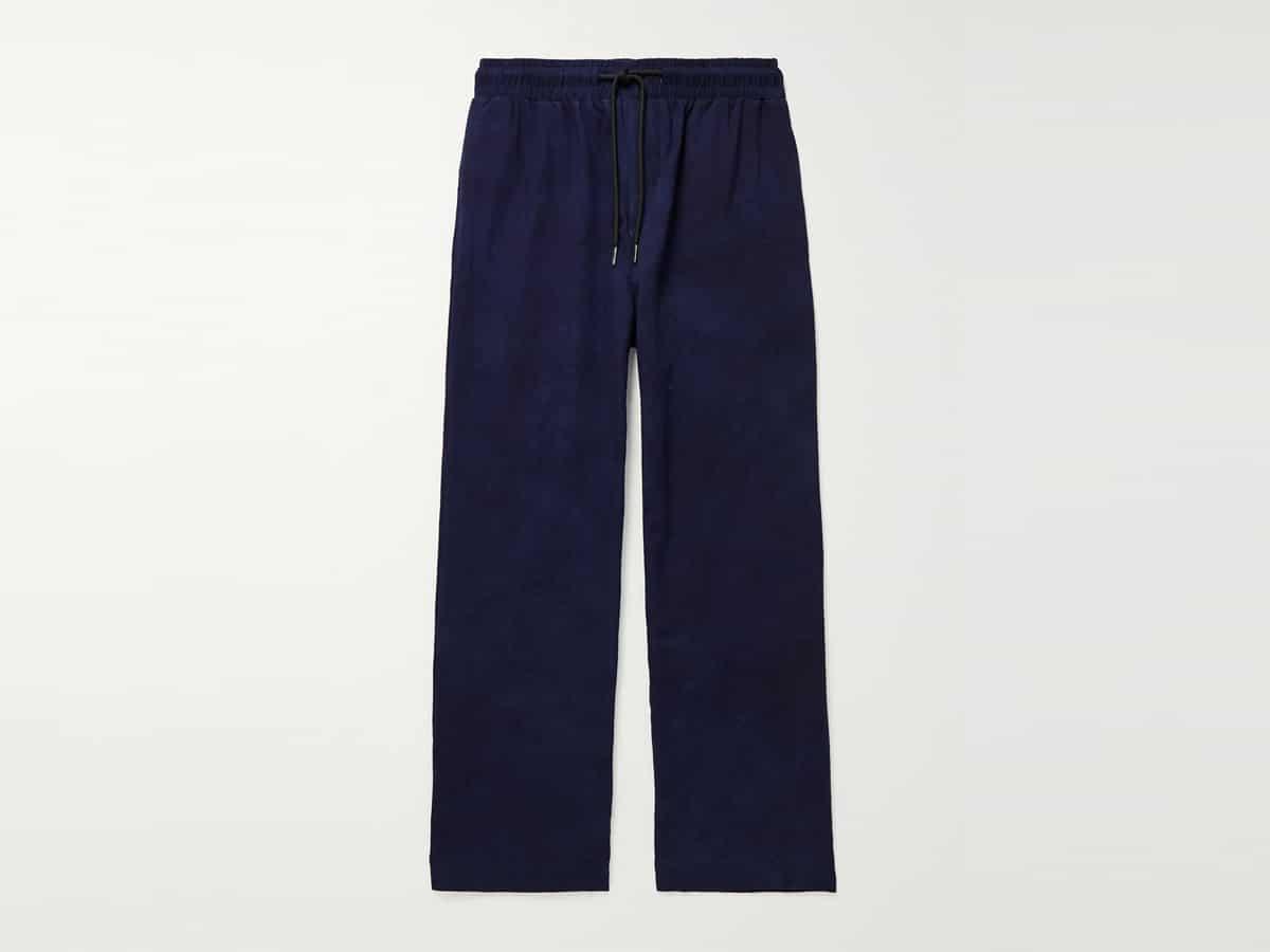 Ikeja cotton drawstring trousers