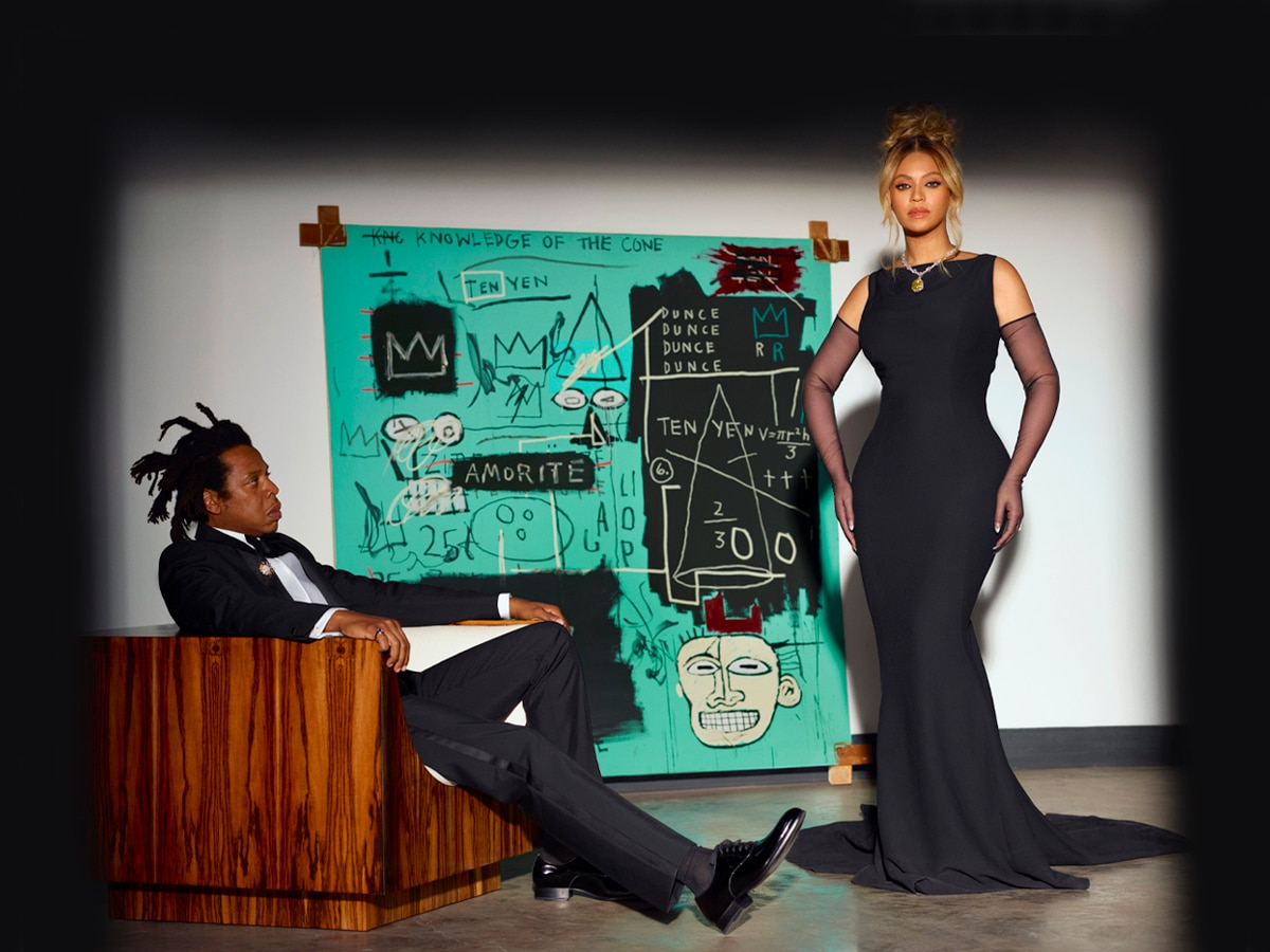 Jay z and beyonce tiffany and co