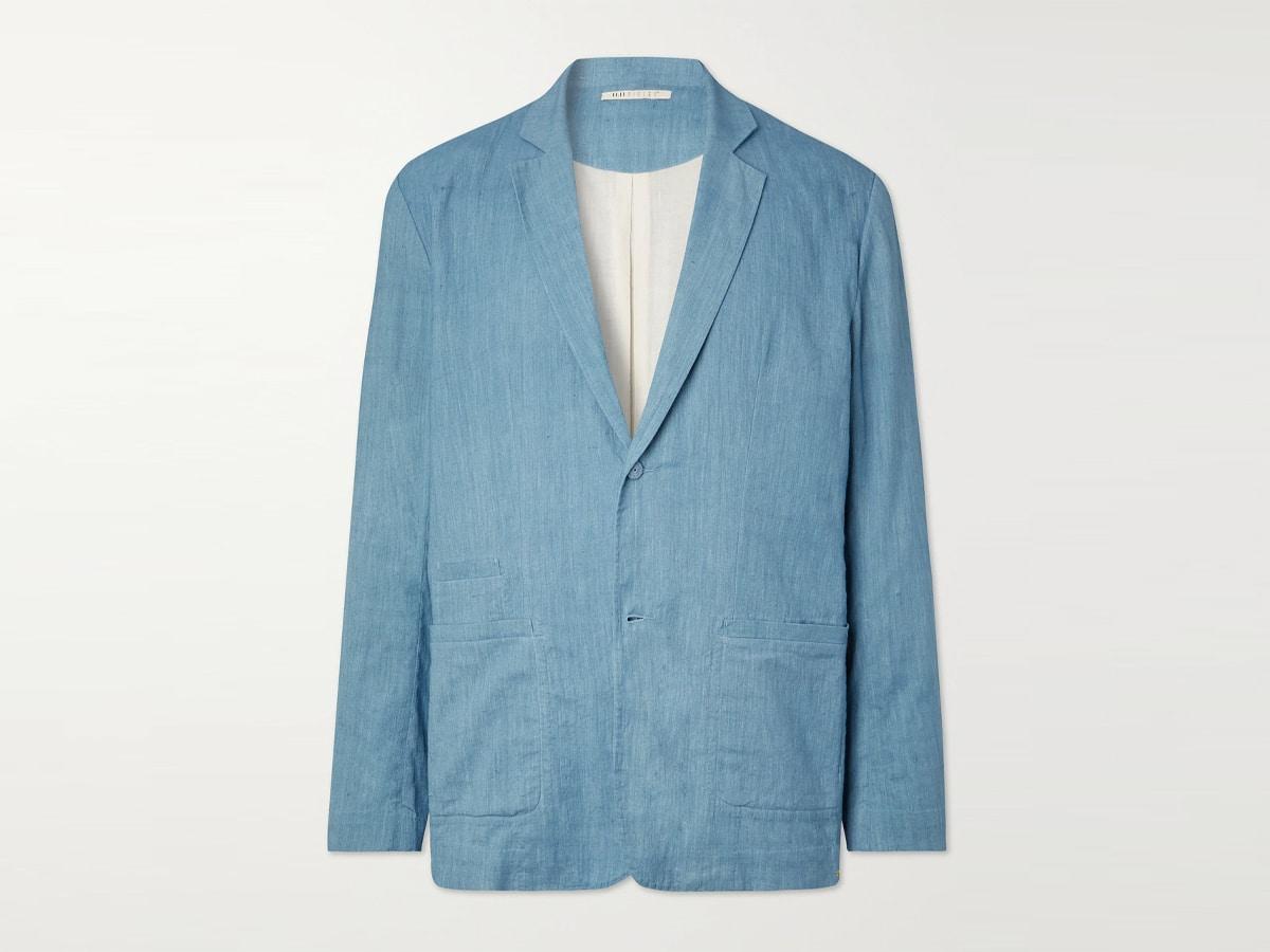 Kino unstructured cotton blazer