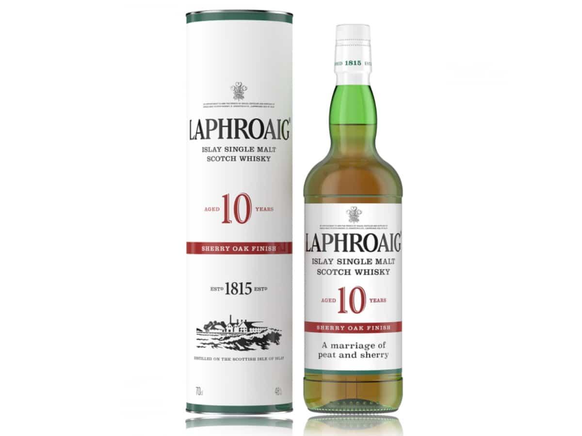 Laphroaig sherry oak finish