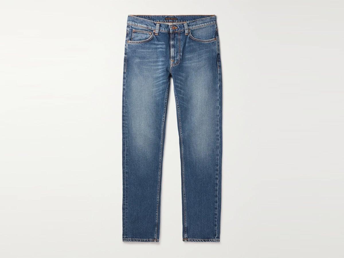 Lean dean slim fit organic jeans