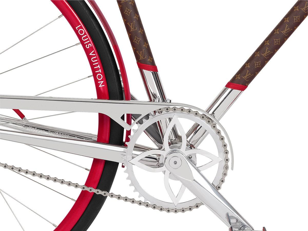 Louis vuitton bike chain