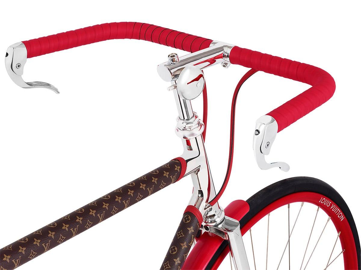 Louis vuitton bike red closer