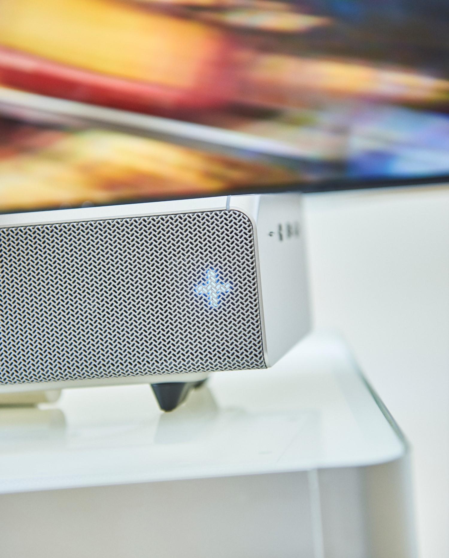 samsungs sound and soundbar light view