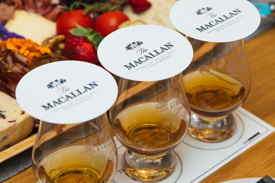 the macallan double cask whisky tasting
