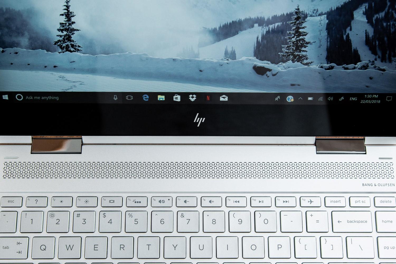 hp spectre x360 convertible laptop performance view