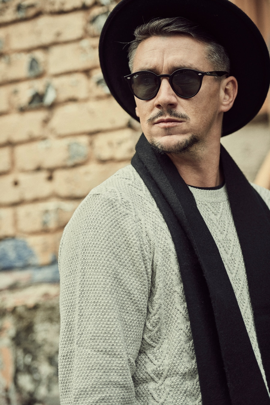 marks & spencer pure wool fedora with stormwear