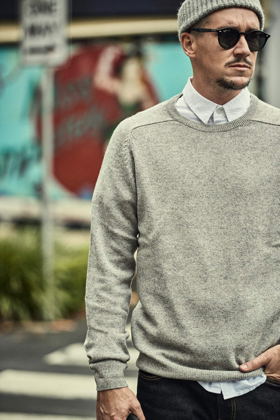 marks & spencer wearing sweater