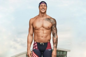 Most ripped olympians