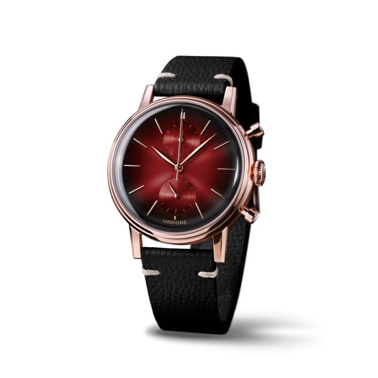 undone a red colors watches