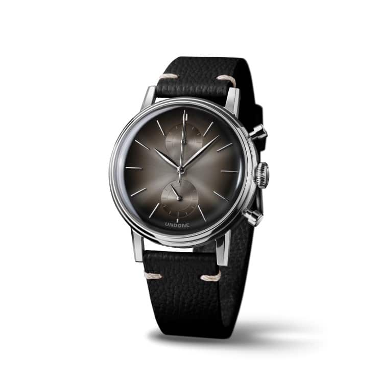 undone a black colors watches