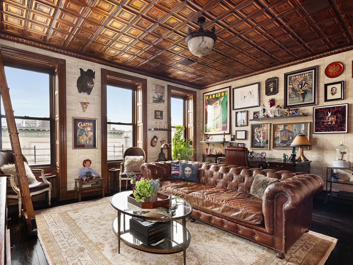 Neil patrick harris house living area