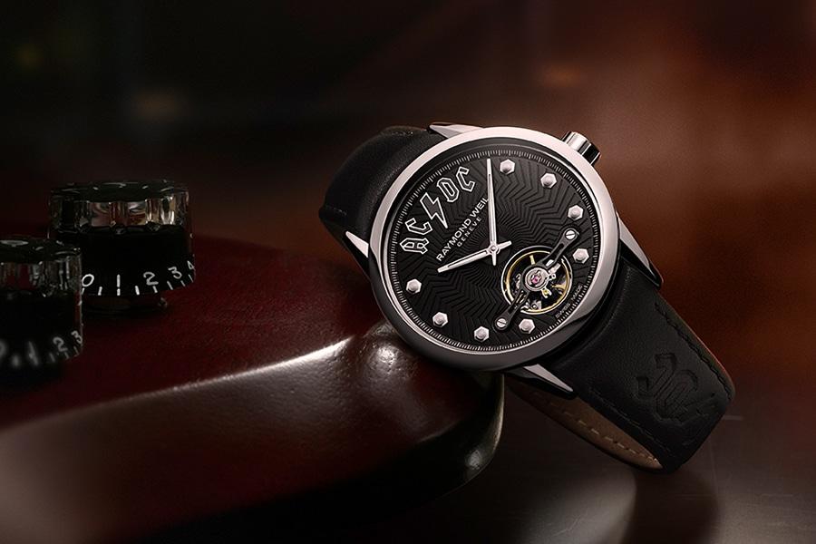raymond weil watch black