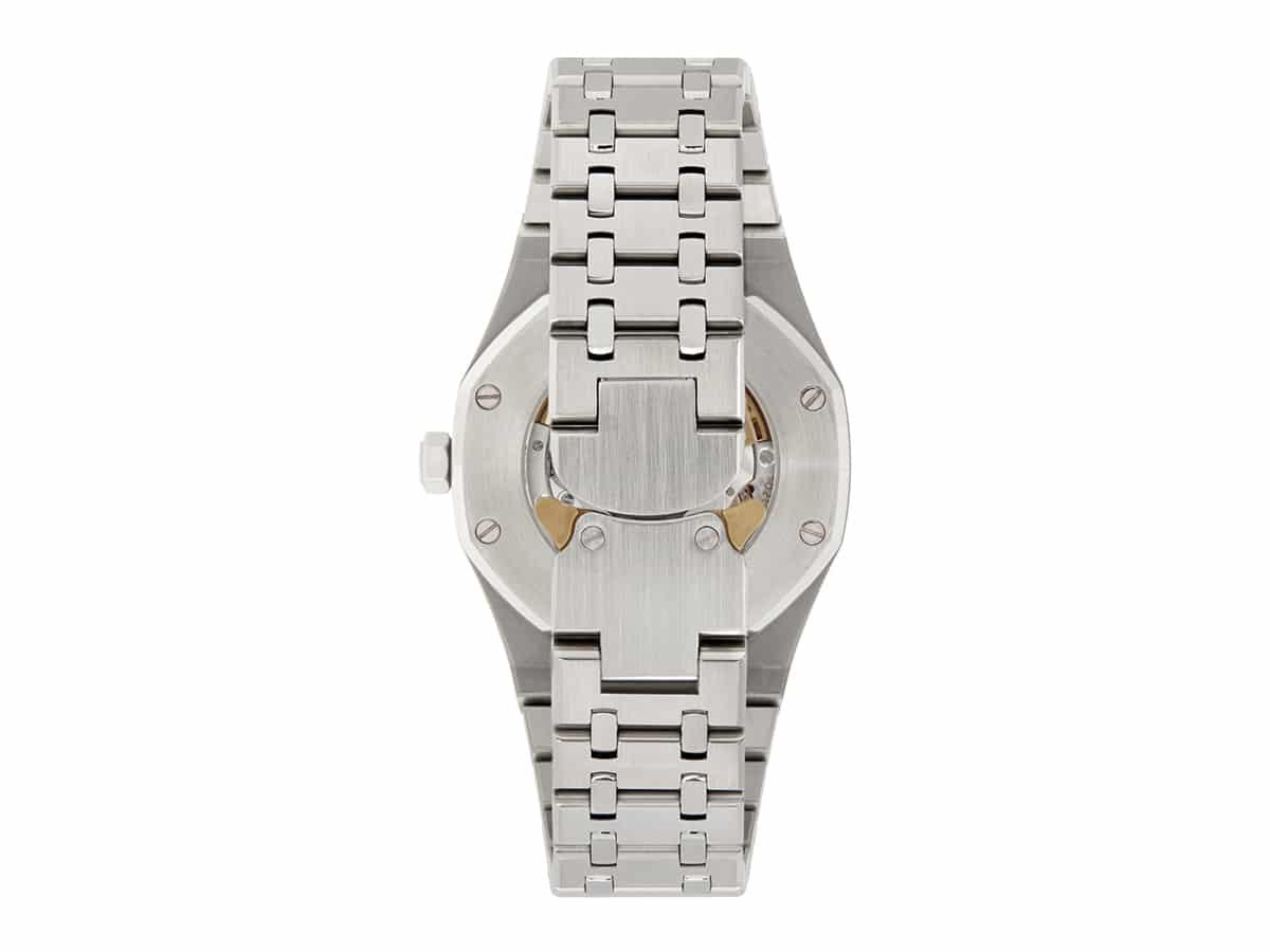 Silver mad paris edition customized audemars piguet royal oak watch 1