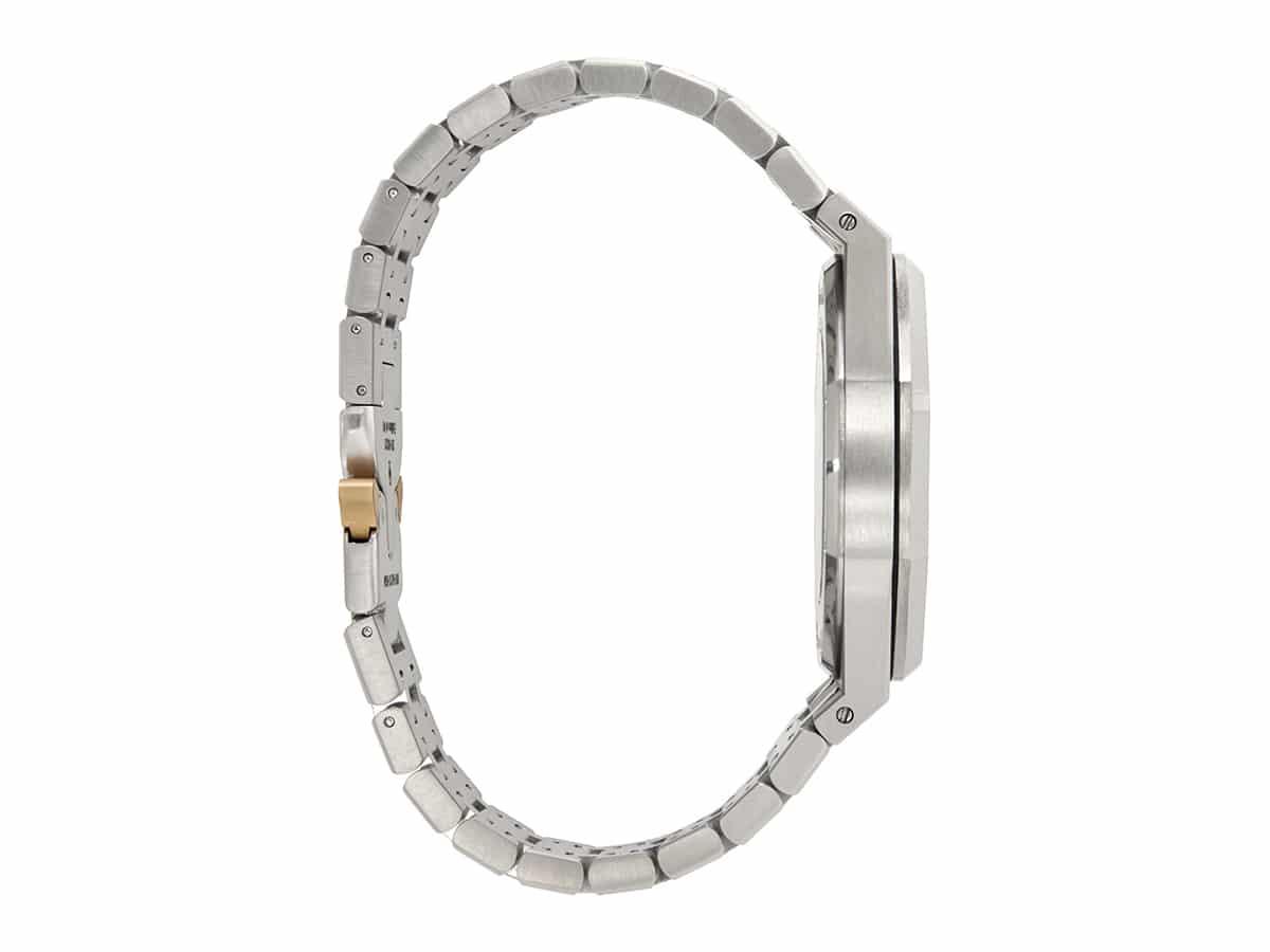 Silver mad paris edition customized audemars piguet royal oak watch 2